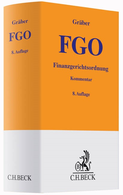 Finanzgerichtsordnung: FGO | Gräber | 8., neu bearbeitete Auflage, 2015 | Buch (Cover)