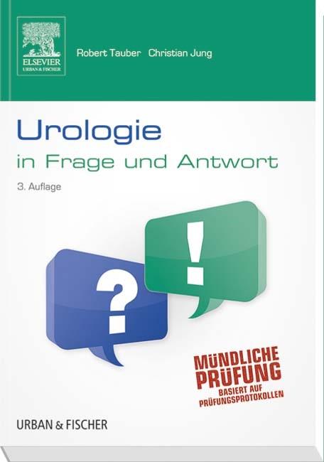 Urologie in Frage und Antwort | Jung / Tauber, 2014 | Buch (Cover)