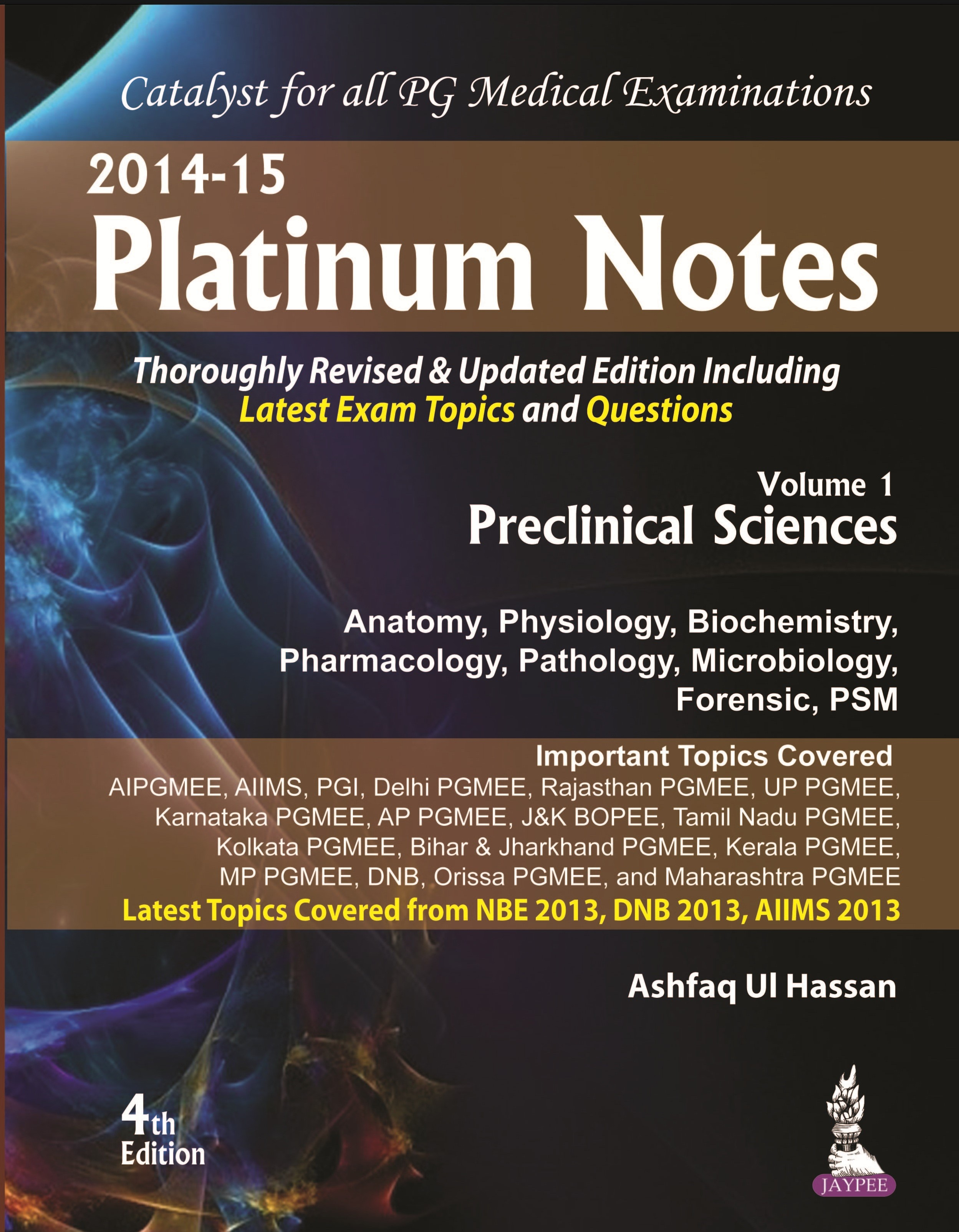 Abbildung von Hassan | Platinum Notes : Preclinical Sciences | Vol. 1 | 2014