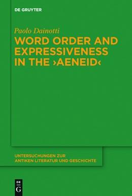 Abbildung von Dainotti | Word Order and Expressiveness in the
