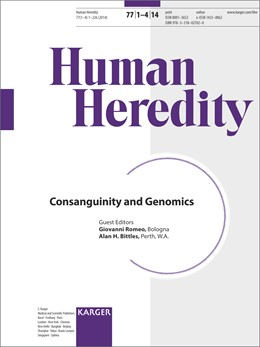 Abbildung von Romeo / Bittles   Consanguinity and Genomics   1. Auflage   2014   beck-shop.de