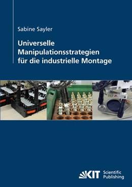 Abbildung von Sayler | Universelle Manipulationsstrategien für die industrielle Montage | 2014