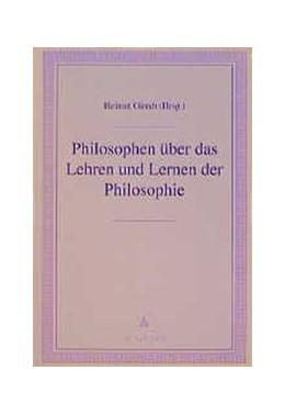 Abbildung von Girndt | Philosophen über das Lehren und Lernen der Philosophie | 1996