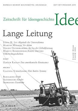 Abbildung von Zeitschrift für Ideengeschichte Heft IX/1 Frühjahr 2015 | 1. Auflage | 2015 | beck-shop.de