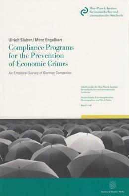 Abbildung von Sieber / Engelhart | Compliance Programs for the Prevention of Economic Crimes | 1. Auflage | 2014 | 140 | beck-shop.de