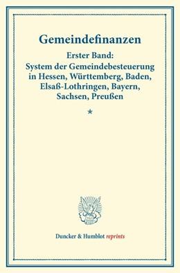 Abbildung von Gemeindefinanzen. | 1. Auflage | 2014 | beck-shop.de