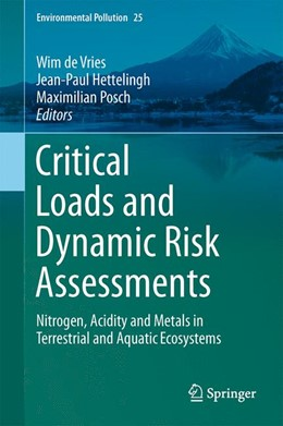 Abbildung von de Vries / Hettelingh | Critical Loads and Dynamic Risk Assessments | 1. Auflage | 2015 | 25 | beck-shop.de