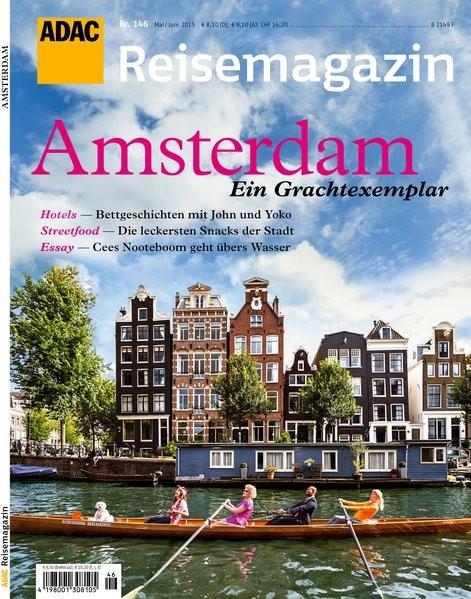 ADAC Reisemagazin Amsterdam, 2015   Buch (Cover)