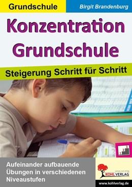 Abbildung von Pauly | Konzentration Grundschule | 1. Auflage | 2015 | beck-shop.de