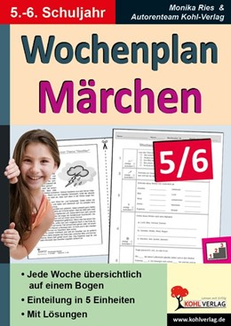 Abbildung von Hauke | Wochenplan Märchen 5/6 | 1. Auflage | 2015 | beck-shop.de