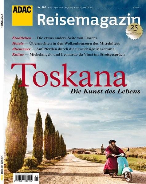 ADAC Reisemagazin Toskana, 2015 | Buch (Cover)