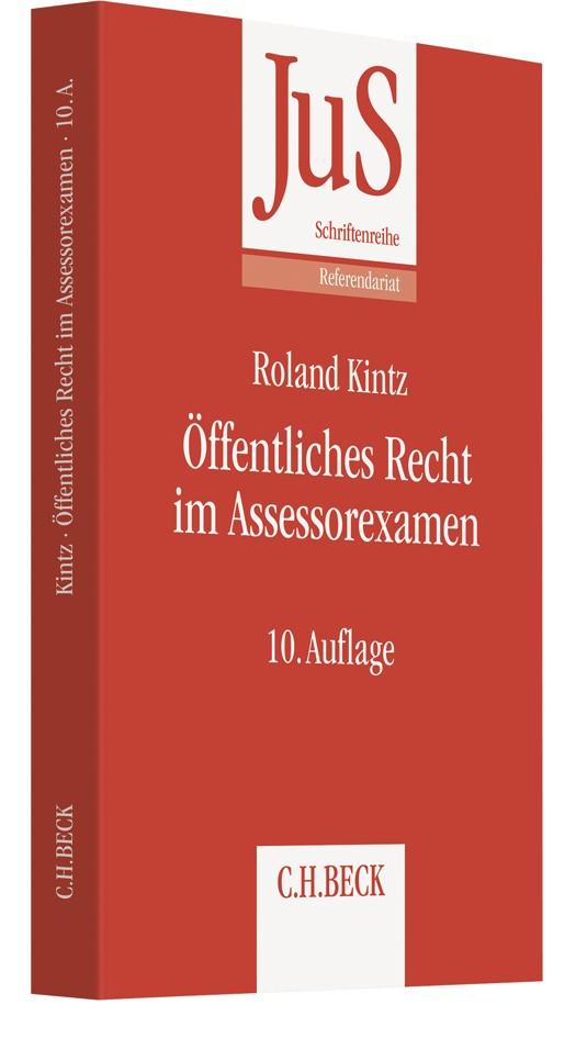 Öffentliches Recht im Assessorexamen | Kintz | 9., neu bearbeitete Auflage, 2015 | Buch (Cover)