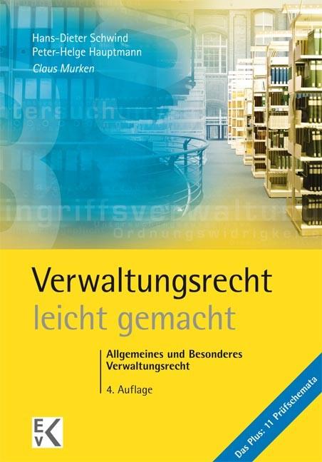 Verwaltungsrecht - leicht gemacht | Murken | 4. Auflage. 2014, 2014 (Cover)