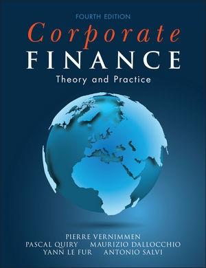 Corporate Finance | Vernimmen / Quiry / Dallocchio / Le Fur / Salvi | 4. Auflage, 2014 | Buch (Cover)