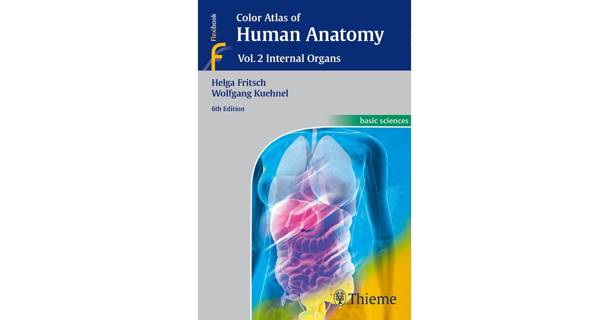 Color Atlas Of Human Anatomy Vol 2 Fritsch Khnel 6th Edition