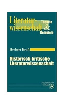 Abbildung von Kraft | Historisch-kritische Literaturwissenschaft | 1999 | 1