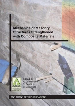 Abbildung von di Tommaso / Gentilini / Castellazzi | Mechanics of Masonry Structures Strengthened with Composite Materials | 2014 | Selected, peer reviewed papers... | Volume 624