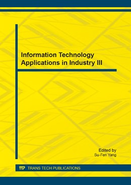 Abbildung von Yang   Information Technology Applications in Industry III   2014   Selected, peer reviewed papers...   Volumes 631-632