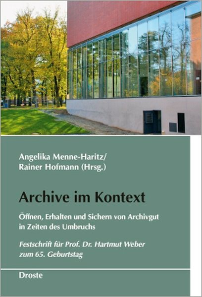 Abbildung von Menne-Haritz / Hofmann | Archive im Kontext | 2010