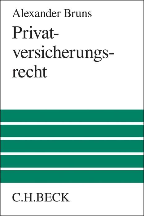 Privatversicherungsrecht | Bruns, 2015 | Buch (Cover)
