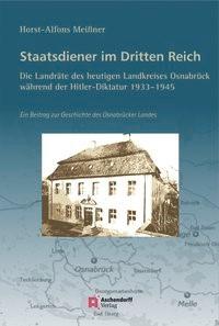 Abbildung von Meissner | Staatsdiener im Dritten Reich: Die Landräte des heutigen Landkreises Osnabrück | 2014