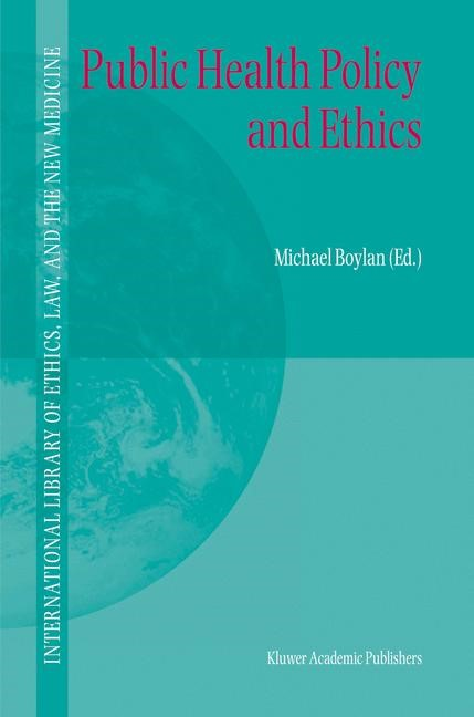 Public Health Policy and Ethics | Boylan, 2004 | Buch (Cover)