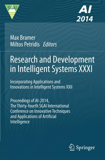 Research and Development in Intelligent Systems XXXI | Bramer / Petridis, 2014 | Buch (Cover)