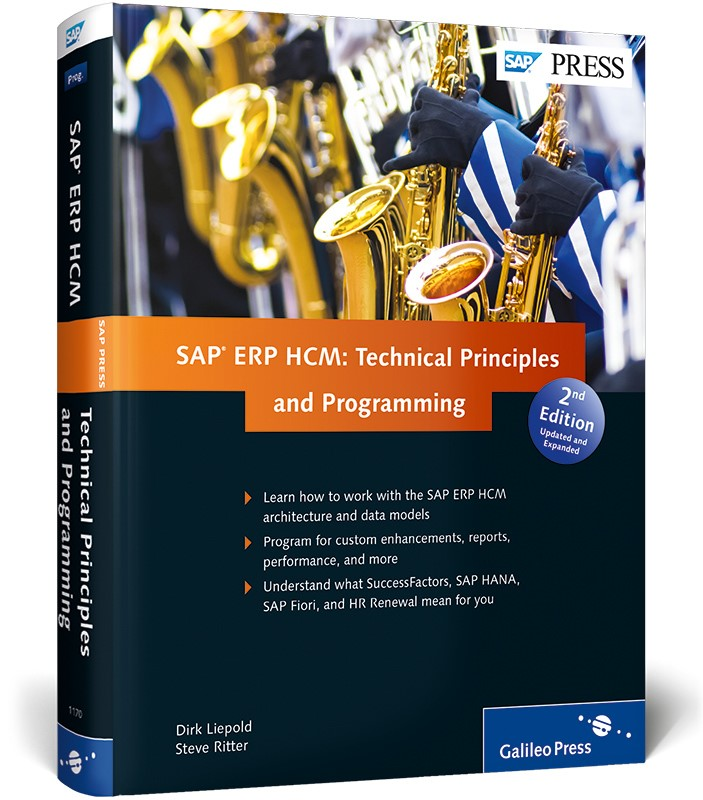 SAP ERP HCM: Technical Principles and Programming | Liepold / Ritter, 2014 | Buch (Cover)
