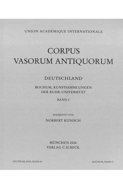 Cover: , Corpus Vasorum Antiquorum Deutschland Bd. 81  Bochum II: Kunstsammlungen der Ruhr-Universität