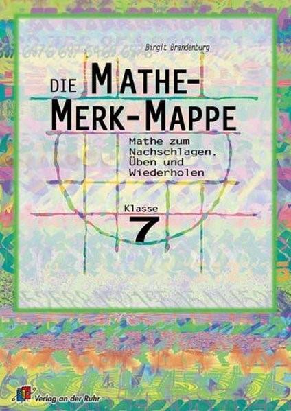 Die Mathe-Merk-Mappe. Klasse 7 | Brandenburg, 2003 | Buch (Cover)