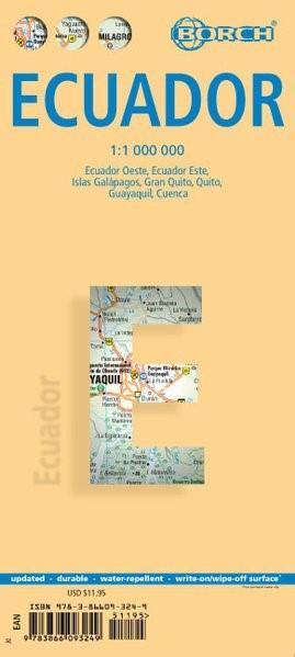 Ecuador 1 : 1 000 000 | 10. Auflage, 2018 (Cover)