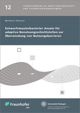 Abbildung von / Spath | Entwurfsmusterbasierter Ansatz für adaptive Benutzungsschnittstellen zur Überwindung von Nutzungsbarrieren. | 1. Auflage | 2014 | 12 | beck-shop.de