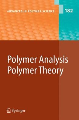 Abbildung von Abe / Kobayashi | Polymer Analysis/Polymer Theory | 2005 | 182