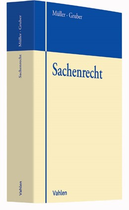 Abbildung von Müller / Gruber   Sachenrecht   2016