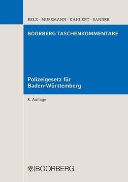 Abbildung von Polizeigesetz für Baden-Württemberg | 8., neubearbeitete Auflage | 2015 | mit Erläuterungen