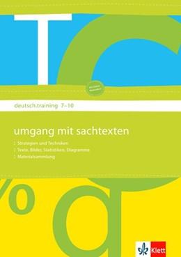 Abbildung von deutsch.training. 7. bis 10. Klasse. Arbeitsheft Medien I | 1. Auflage | 2008 | beck-shop.de
