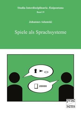 Abbildung von Adamski | Spiele als Sprachsysteme | 2013