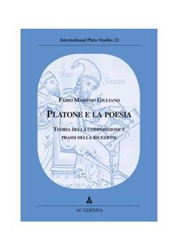 Abbildung von Giuliano | Platone e la poesia | 2005 | Teoria della composizione e pr...