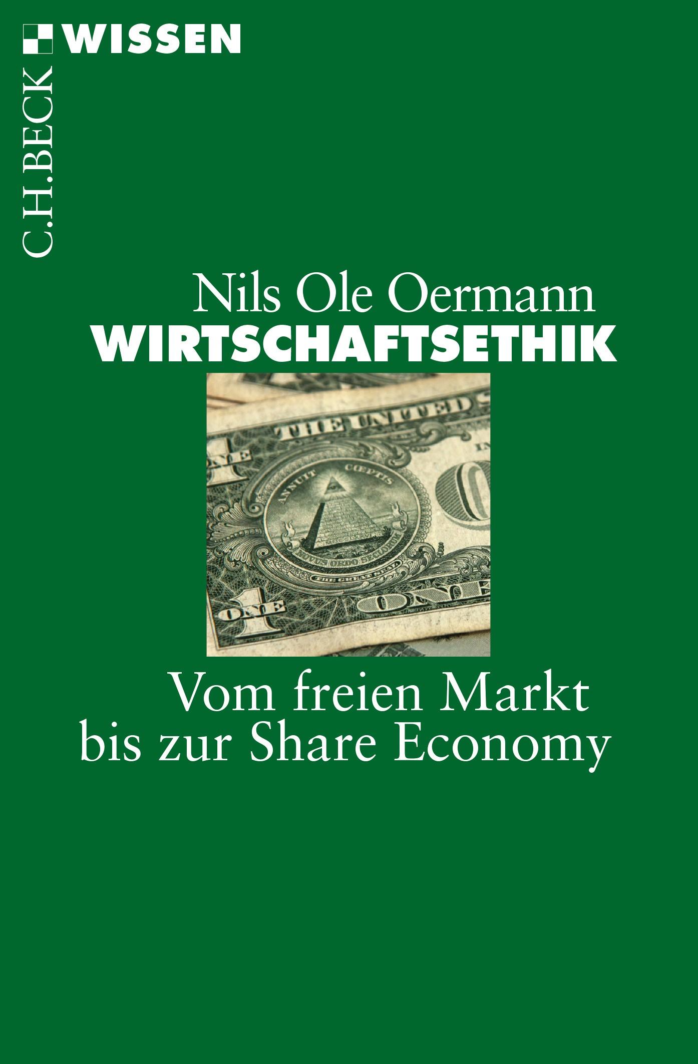 Wirtschaftsethik | Oermann, Nils Ole, 2015 | Buch (Cover)