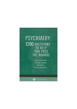 Abbildung von Mathews / Budur / Basil | Psychiatry: 1,200 Questions to Help You Pass the Boards | 2004