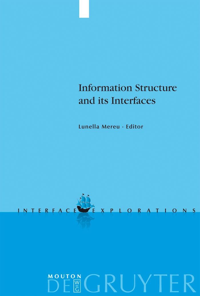 Abbildung von Mereu | Information Structure and its Interfaces | 2009