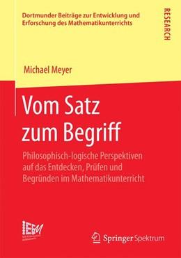 Abbildung von Meyer | Vom Satz zum Begriff | 2014 | Philosophisch-logische Perspek... | 18