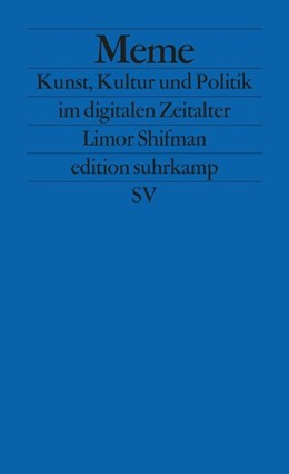 Abbildung von Shifman | Meme | 1. Auflage | 2014 | beck-shop.de