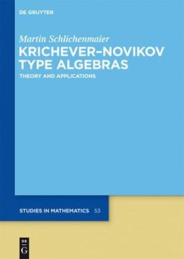 Abbildung von Schlichenmaier   Krichever-Novikov Type Algebras   1. Auflage   2014   Theory and Applications