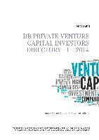 DB Private Venture Capital Investors Directory  I - 2014 | Duthel | 1. Auflage., 2014 | eBook (Cover)