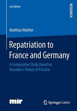 Abbildung von Walther   Repatriation to France and Germany   1. Auflage   2014   beck-shop.de