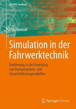 Abbildung von Adamski   Simulation in der Fahrwerktechnik   1. Auflage   2014   beck-shop.de