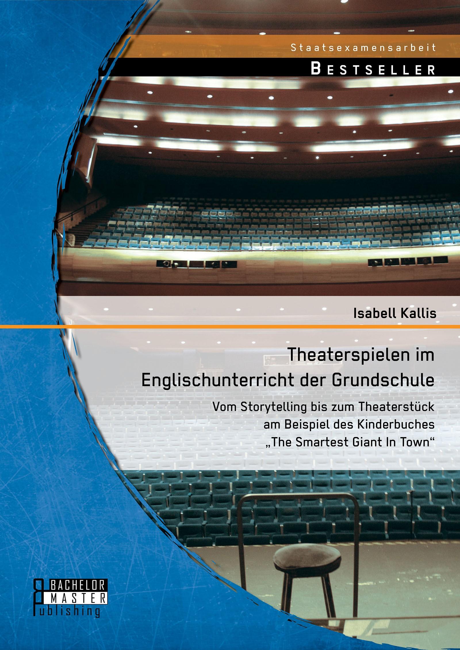 Theaterspielen im Englischunterricht der Grundschule | Kallis | Erstauflage, 2014 | Buch (Cover)