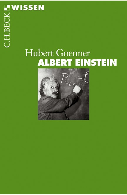 Cover: Hubert Goenner, Albert Einstein