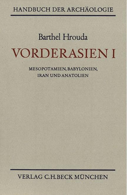Cover: Barthel Hrouda, Vorderasien I